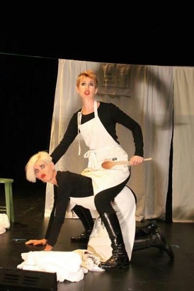 Jessica Walker & Rebecca de Pont Davies in An Eye for an Eye (Tete a Tete)