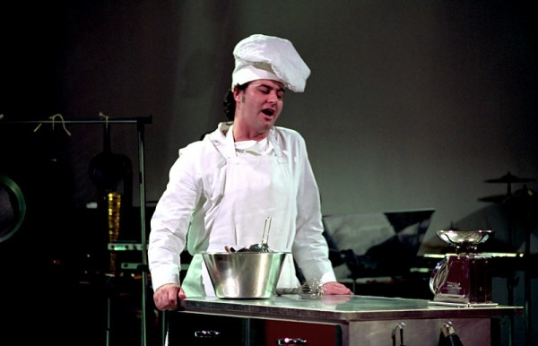 Julian Tovey in Bake for One Hour (ENO Bayliss)