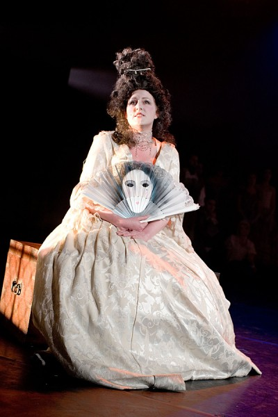 Jo Weeks as the Queen in Mister Purcell: his Ground (The Knack)