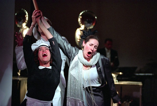 Nicole Tibbels & Clarissa Meek in Bake for One Hour (ENO Bayliss)