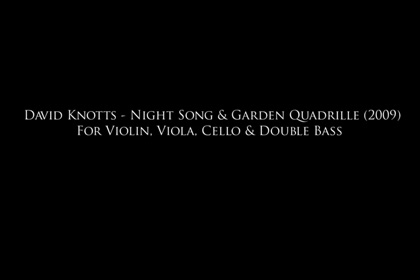 Night Song and Garden Quadrille